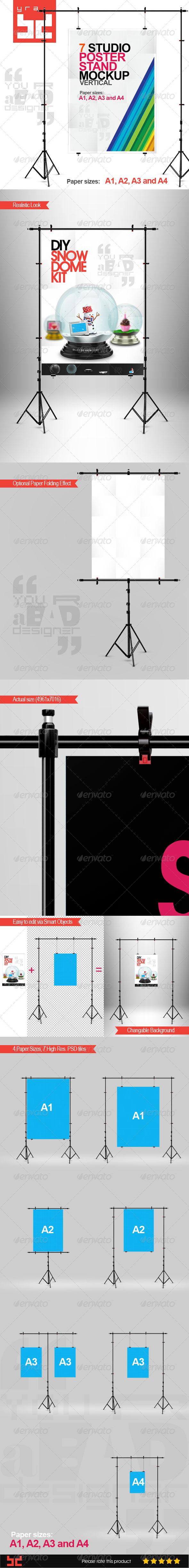 Poster Mock-ups Vertical