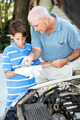 Auto Repair - Helping Dad - PhotoDune Item for Sale