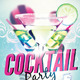 Cocktail Party Flyer Template 2 - GraphicRiver Item for Sale