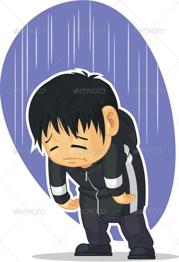 GraphicRiver Sad Boy 8068204
