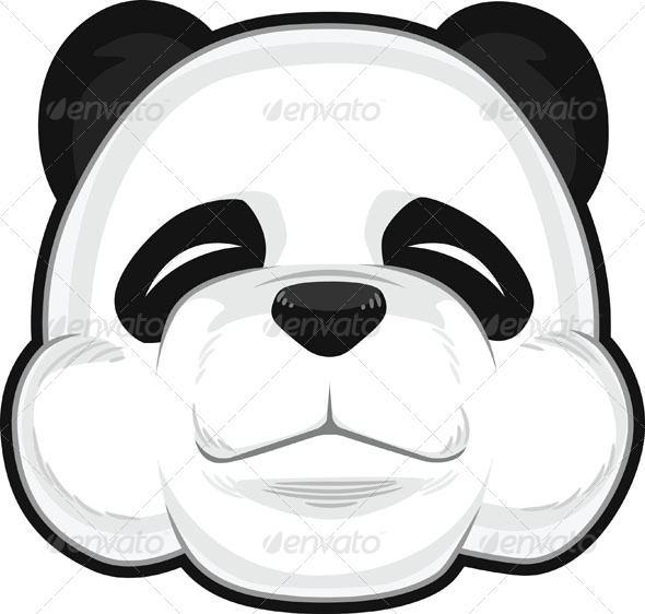GraphicRiver Cute Panda 8071107