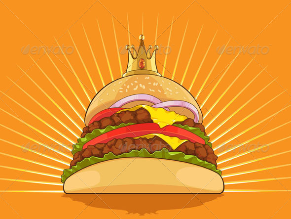 GraphicRiver King Burger 8071373