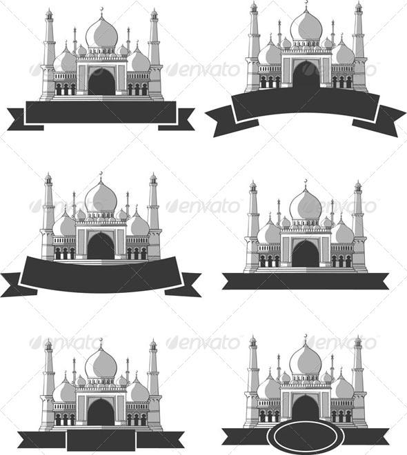 GraphicRiver Ramadan & Eid Mubarak Greeting Masjid Banner 8071460