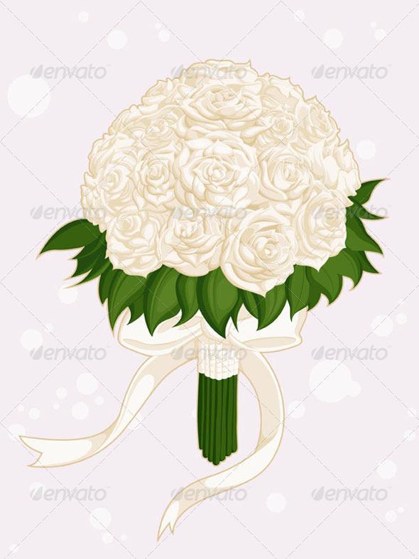 GraphicRiver Wedding Flower Bouquet 8071632