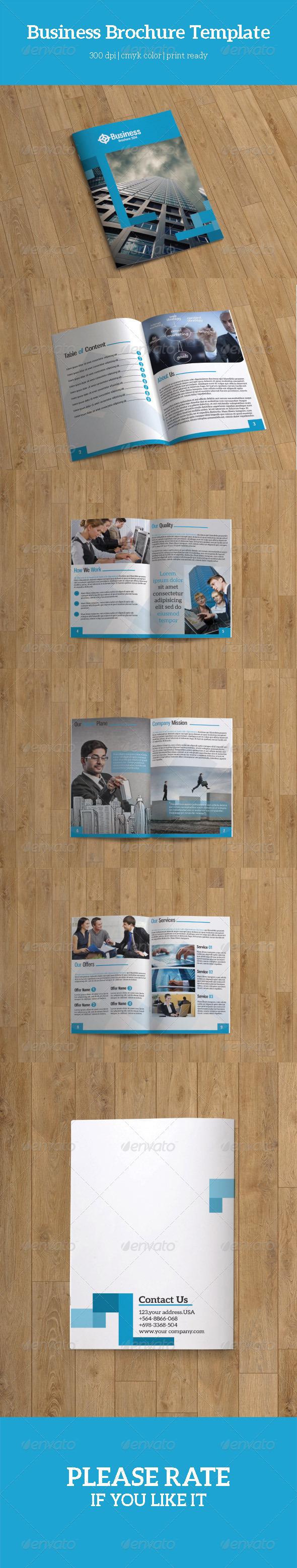 GraphicRiver Bifold Business Brochure-V72 8123563
