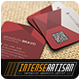 Square Business Card V.9 - GraphicRiver Item for Sale