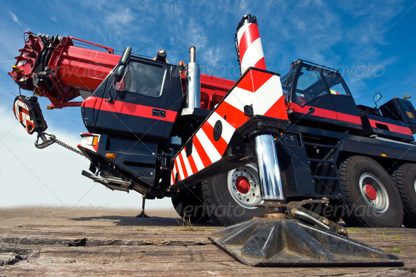 Stock Photo - PhotoDune Mobile crane 832985