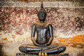 Black buddha ancient  in temple, Thailand. - PhotoDune Item for Sale