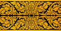 Ancient Thai pattern on door in Thailand Buddha Temple , Asian B - PhotoDune Item for Sale