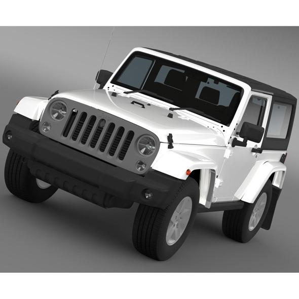 3DOcean Jeep Wrangler Freedom 2014 8124298