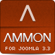 Ammon Responsive Template for Joomla - ThemeForest Item for Sale