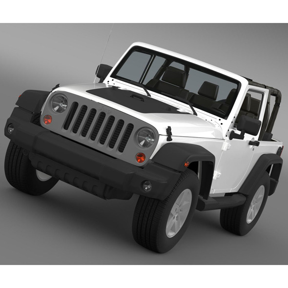 3DOcean Jeep Wrangler Mountain 2012 8124347