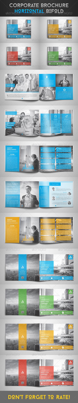 GraphicRiver Corporate Brochure Horizontal Bi-Fold 8124753