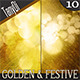 Golden Festive Night - GraphicRiver Item for Sale