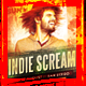 Indie Scream Flyer - GraphicRiver Item for Sale