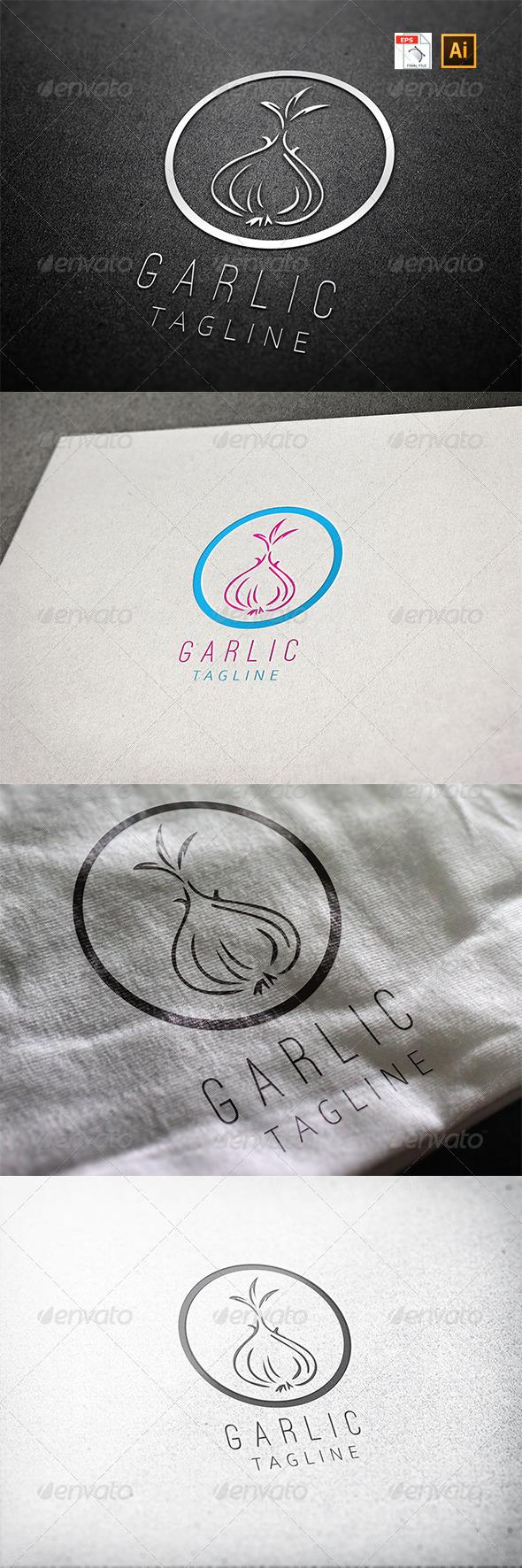 GraphicRiver Garlic Logo 8125317