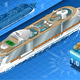 Isometric Cruise Ship in Navigation in Rear View - GraphicRiver Item for Sale