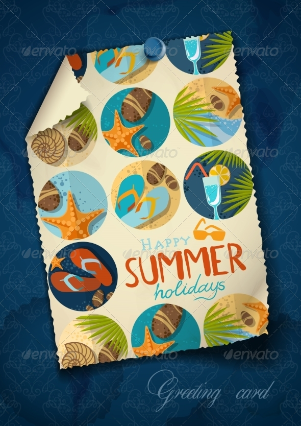 GraphicRiver Greeting Card Design Template 8125804