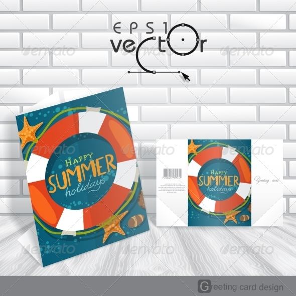 GraphicRiver Greeting Card Design Template 8125806