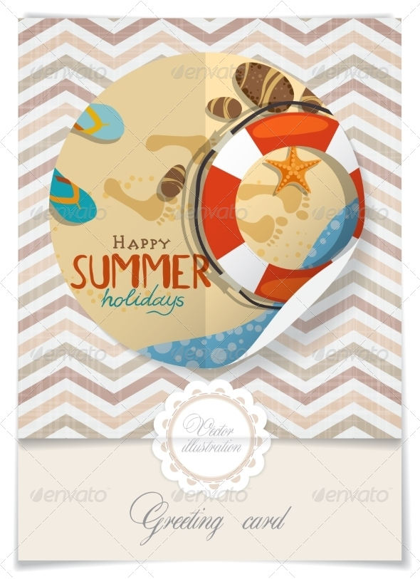 GraphicRiver Greeting Card Design Template 8125809