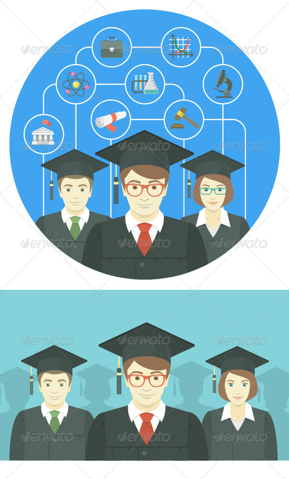 GraphicRiver Graduation Concepts 8126346