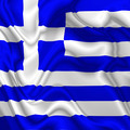 Greece waving silk Flag - PhotoDune Item for Sale