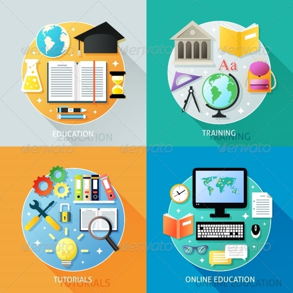 GraphicRiver Business Education Concept 8126832