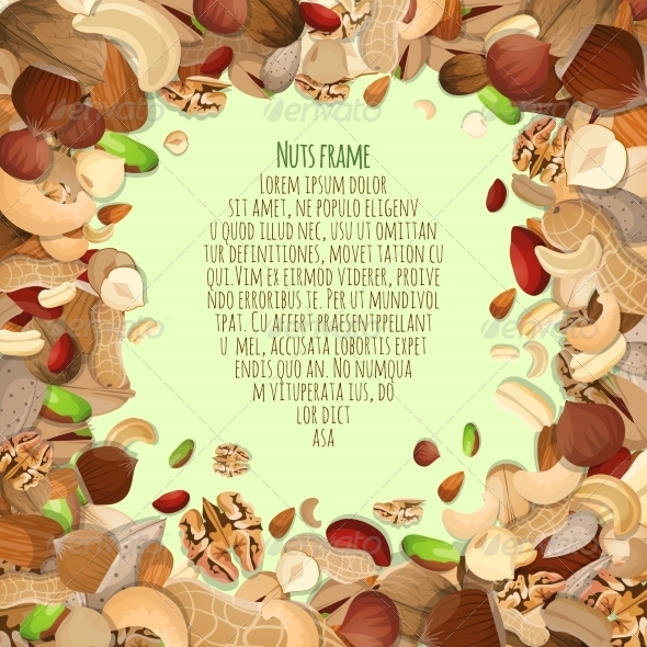 GraphicRiver Nuts Decorative Frame 8126868