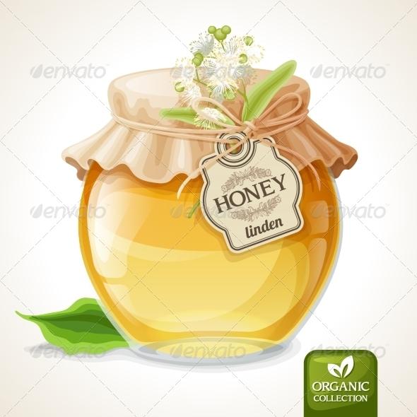 GraphicRiver Linden Honey Jar 8126942