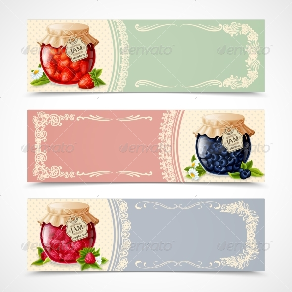 GraphicRiver Jam Banners Set 8126950
