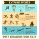 Extreme Sports Infographic - GraphicRiver Item for Sale