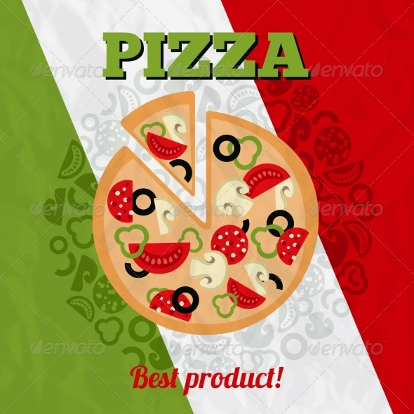 GraphicRiver Italy Pizza Poster 8126969