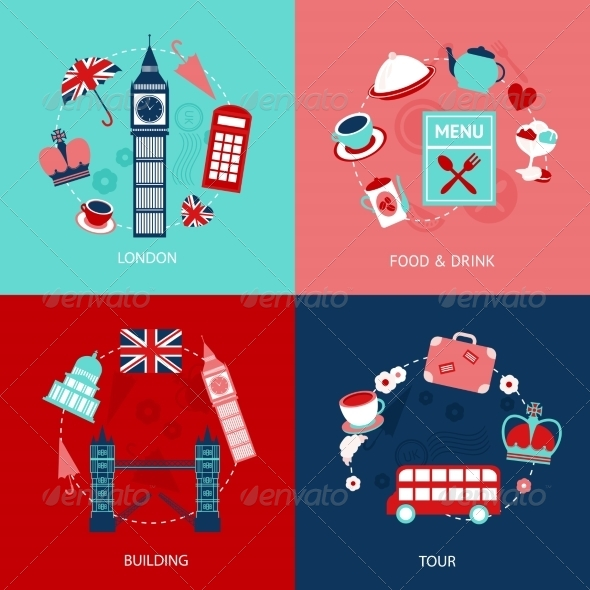 GraphicRiver London Decorative Set 8126985
