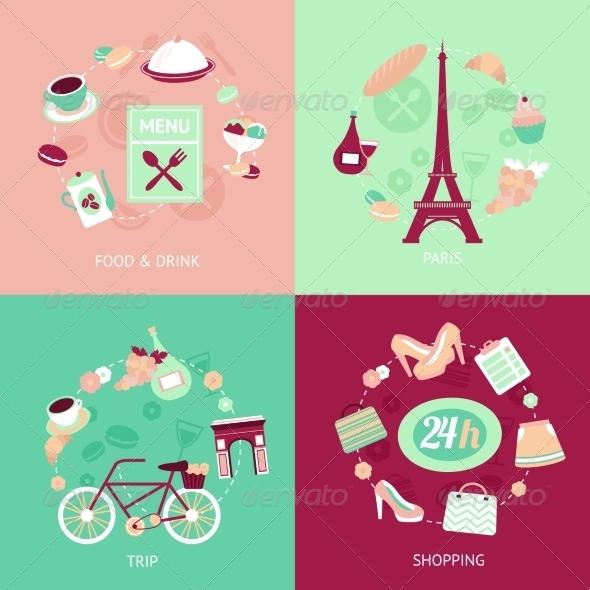 GraphicRiver Paris City Set 8126989