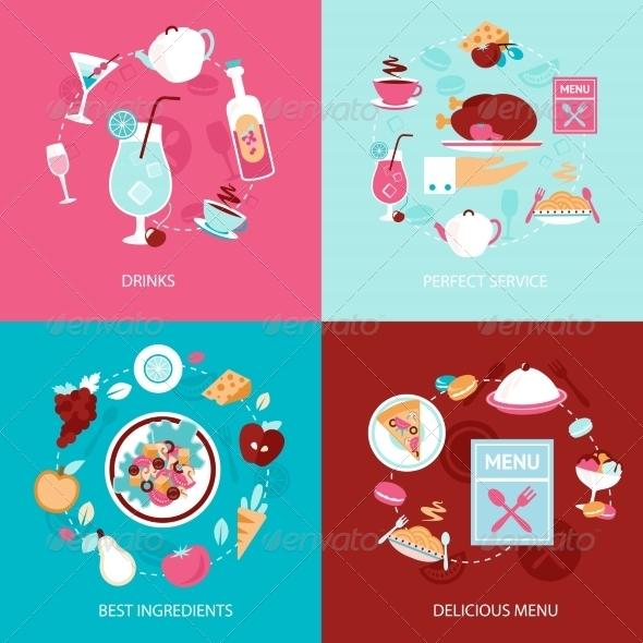 GraphicRiver Menu Restaurant Set 8126998