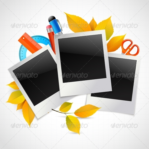GraphicRiver School Photo Frames 8127008