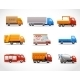 Realistic Truck Icons - GraphicRiver Item for Sale