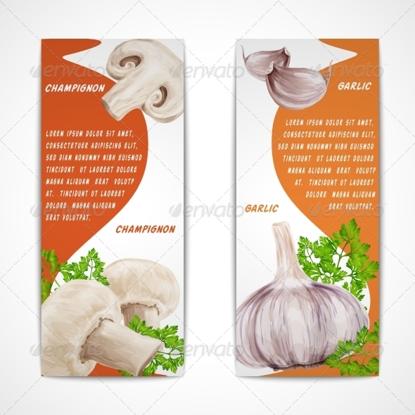 GraphicRiver Garlic Champignon Banners 8127033