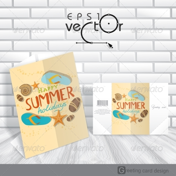GraphicRiver Greeting Card Design Template 8127120