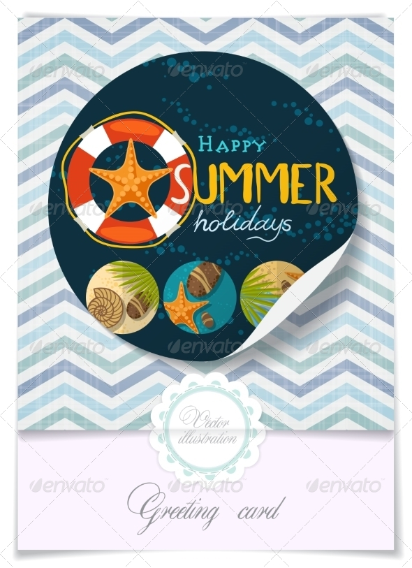 GraphicRiver Greeting Card Design Template 8127130
