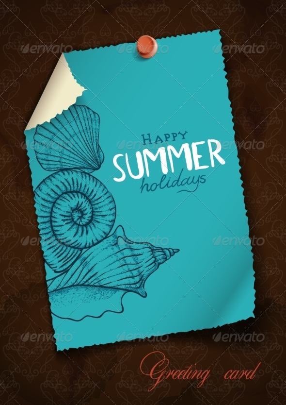 GraphicRiver Greeting Card Design Template 8127135