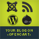 Wordpress, Joomla and Drupal posts on Opencart