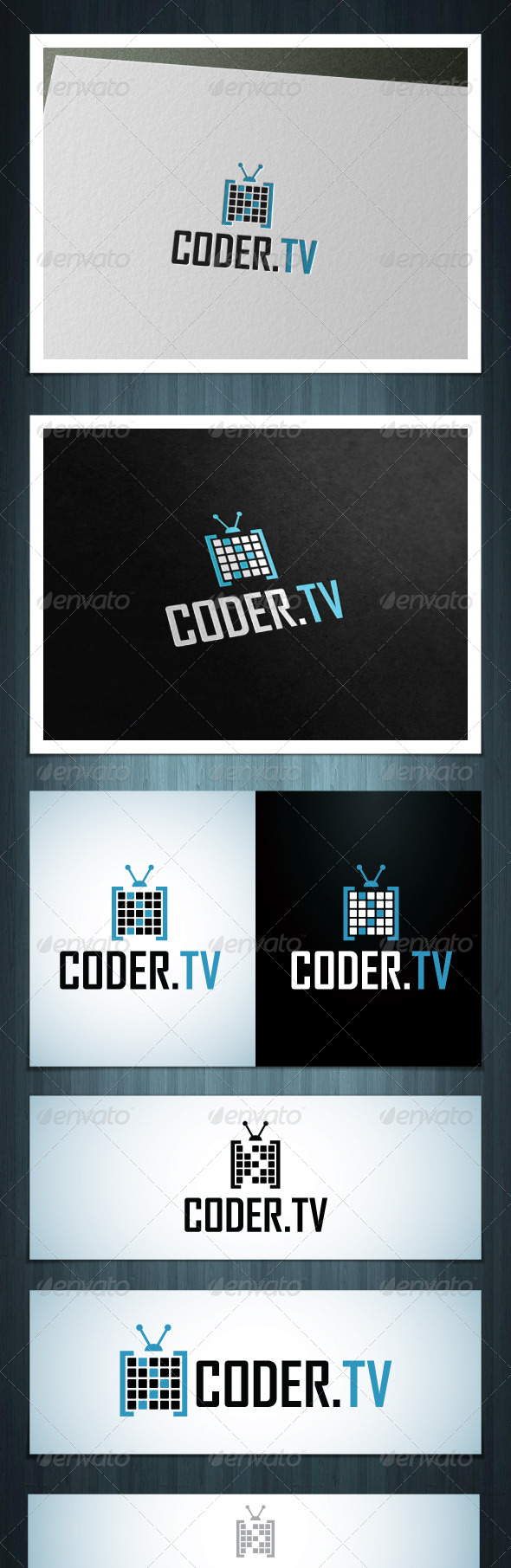 GraphicRiver CoderTV 8127817