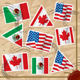 Postage Stamps with Flags - GraphicRiver Item for Sale