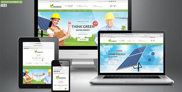 456Ecology eCommerce Wordpress Theme - WooCommerce eCommerce
