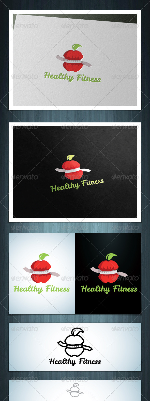 GraphicRiver Healthy Fitness 8127944