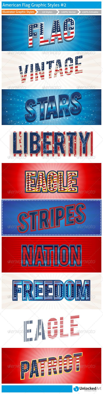 GraphicRiver American Graphic Styles 2 8127970