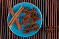 Cinnamon on Blue Plate - PhotoDune Item for Sale