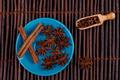 Cinnamon on Blue - PhotoDune Item for Sale