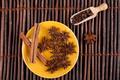 Cinnamon on Yellow Plate - PhotoDune Item for Sale